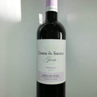 Botella de Conde de Siruela