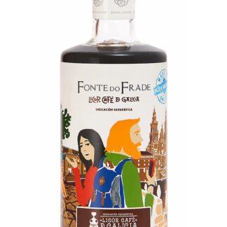 Botella de LIcor Café de Galicia