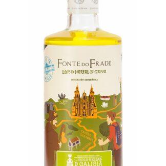 Botella de Licor de Hierbas de Galicia