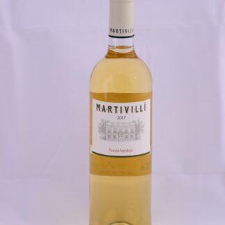Botella de Martivillí Verdejo