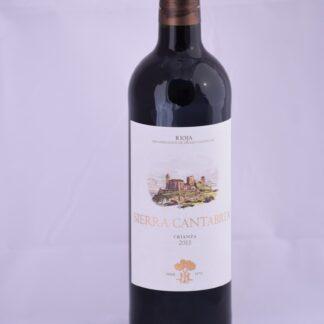 Botella de Sierra Cantabria Crianza